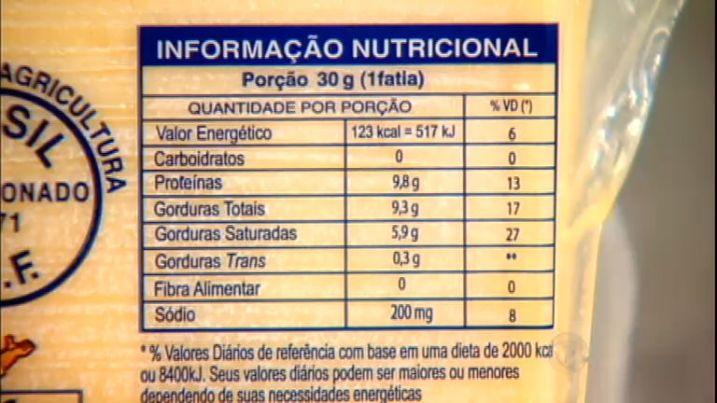 tabela nutricional nutricao deita tratamento medico